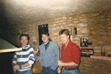 Mitch Dubski in the middle can't remember the names of the other two? Submitted by Mark Kelley, 20SPS/7320SPS, A & B Flts, SP Training, Jul 1983 - Jul 198.