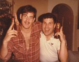 Sgt. Sam Bagley and Sgt. Brad Ruelh. Christmas 1978. Submitted by Sam Bagley, 20th Security Police Squadron, Law Enforcement, ''A'' Flight, Jan 1982 - Sep 1985.