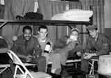 From the John Sargent Collection, 3918th Supply Squadron, circa 1954. Submitted courtesy of John Sargent's son, Neil Sargent.