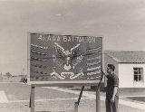 Submitted by Richard Falcone, US ARMY, 4th AAA Batallion, 32nd Brigade, 1956 - 1957.