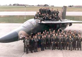 The 79th Tactical Fighter Squadron, 1988. Submitted by Lt. Col. Larry Carter, Commander, 79th Fighter Squadron, 1988-1990.