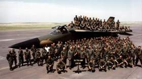 79TFS & AMU - 1989. Submitted by Lt. Col. Larry Carter, Commander, 79th Fighter Squadron, 1988-1990.